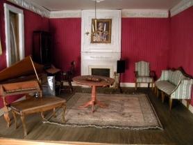 The dollhouse living room