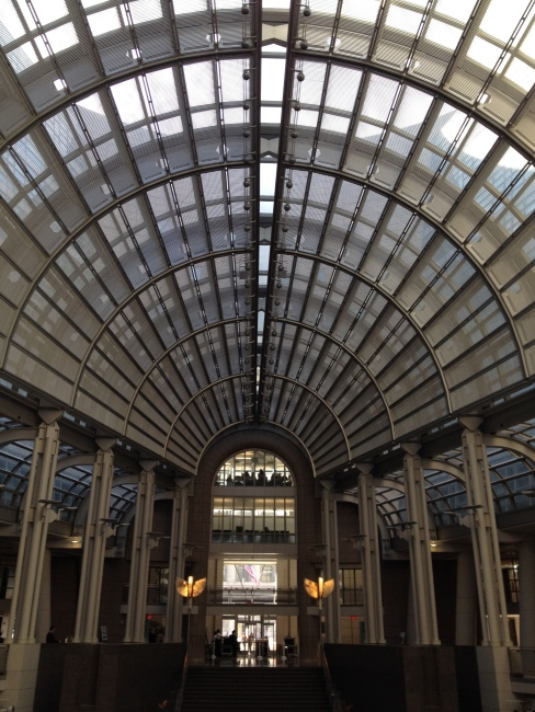 The center atrium