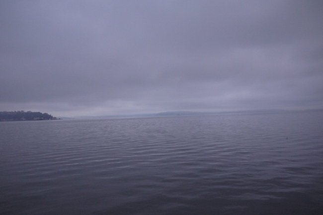 Puget Sound at 9 a.m.