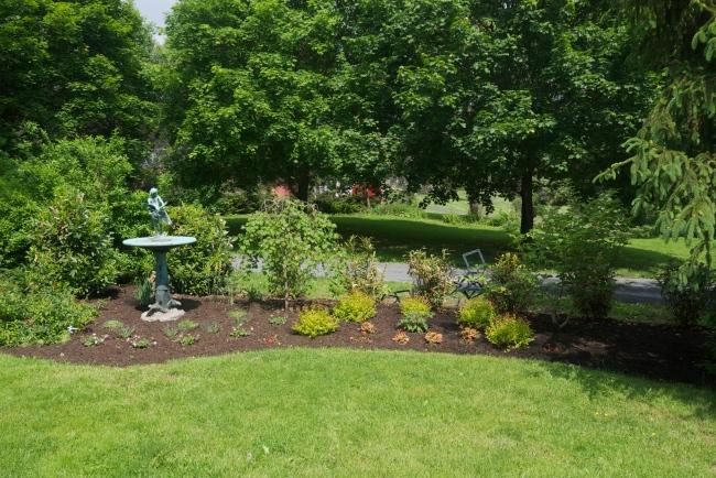 Goose Girl garden