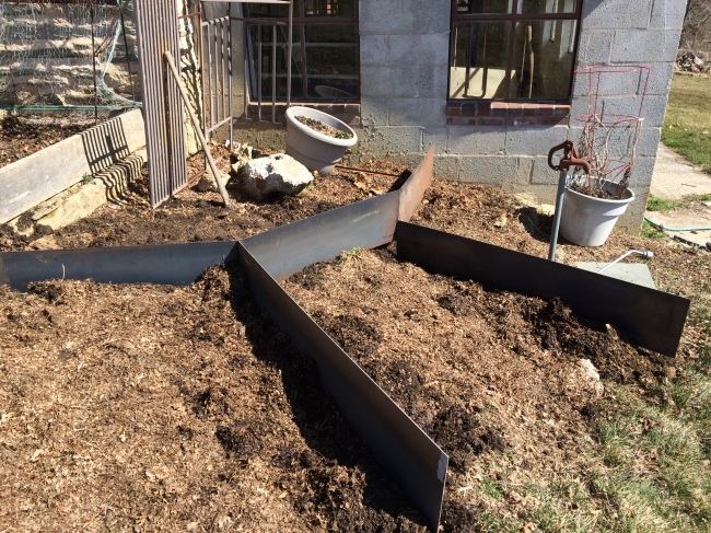 steel walls for the garden